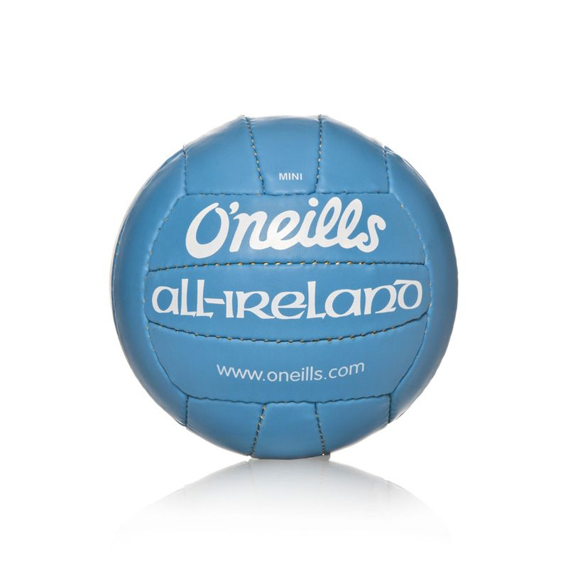 Mini All Ireland Football (Cyan)