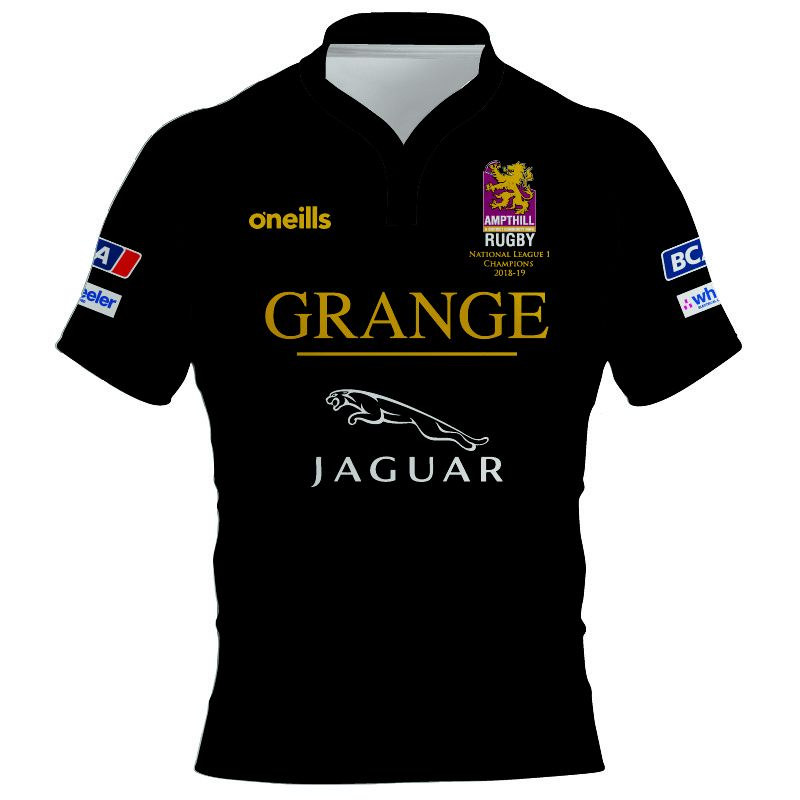 Ampthill & District RFC Away Commemorative National 1 Champions Shirt Kids