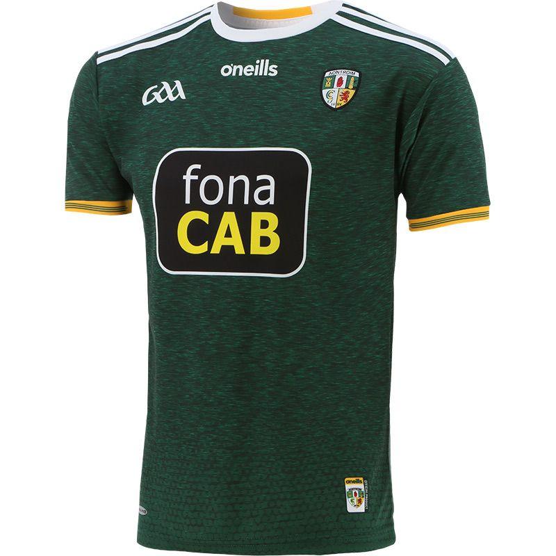 Antrim GAA Player Fit Away Jersey