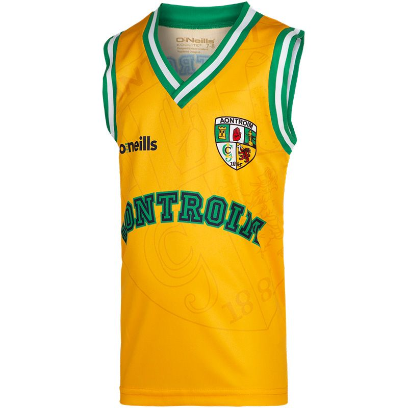Antrim GAA Kids' Basketball Vest
