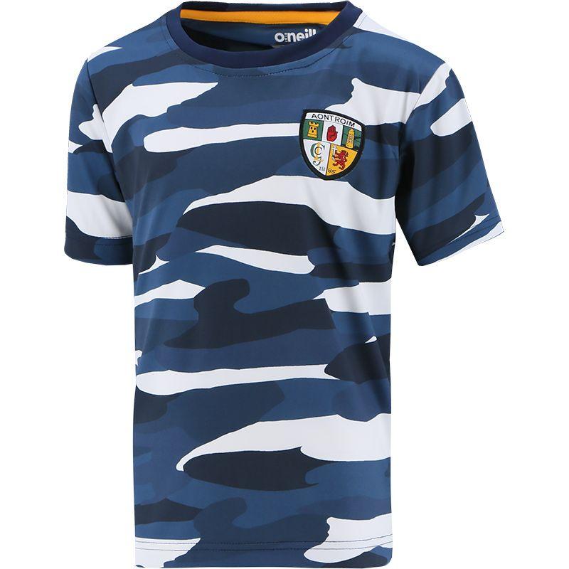 Antrim GAA Kids' Bobby Sublimated T-Shirt Multi
