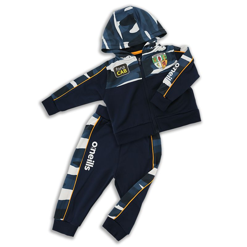 Antrim GAA Kids' Bobby Brushed Infant Suit Marine / Multi / Amber