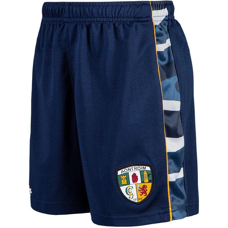 Antrim GAA Kids' Bobby Shorts Marine / Multi / Amber