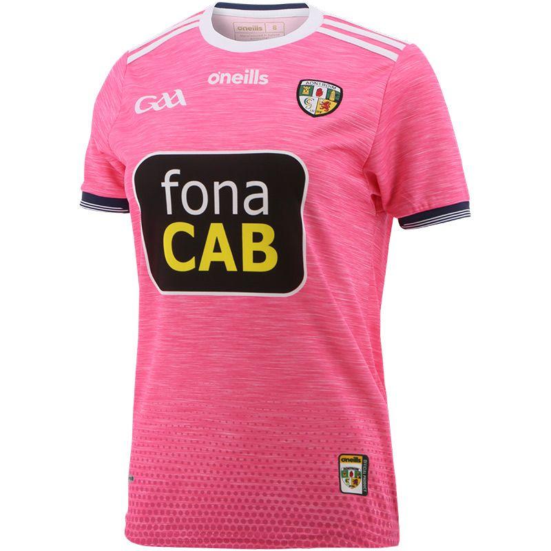 Antrim GAA Women's Fit Away Pink Jersey
