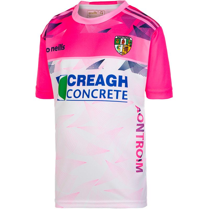 Antrim GAA Girls' Granada Short Sleeve Training Top (Old Sponsor)