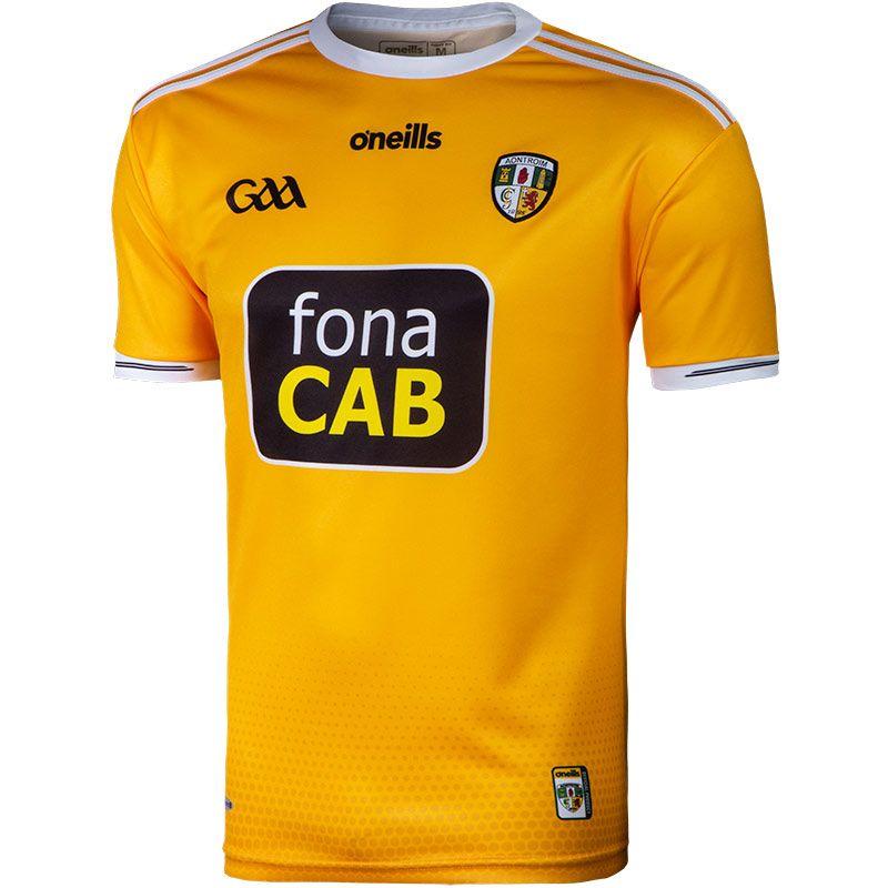 Antrim GAA Player Fit 2-Stripe Home Jersey