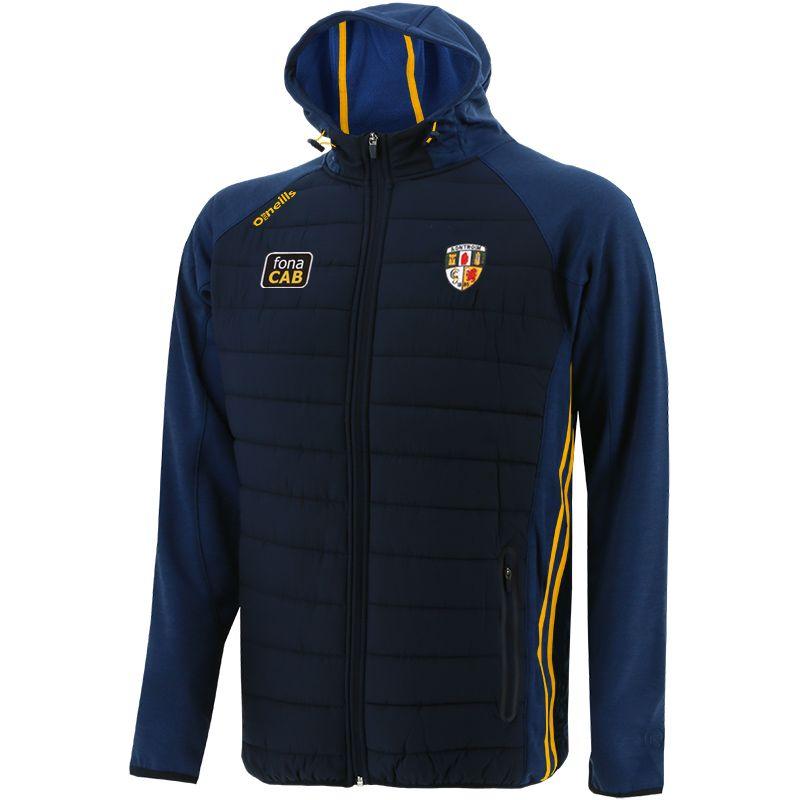 Antrim GAA Men's Portland Light Weight Padded Jacket Marine / Amber