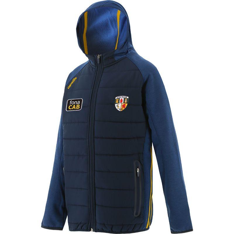 Antrim GAA Kids' Portland Light Weight Padded Jacket Marine / Amber