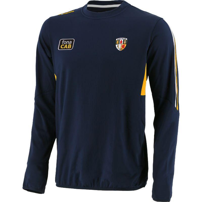 Antrim GAA Men's Raven Brushed Sweatshirt Marine / Amber / White