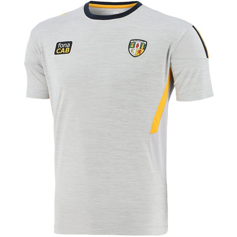 Antrim GAA Men's Raven T-Shirt Silver / Amber / Marine