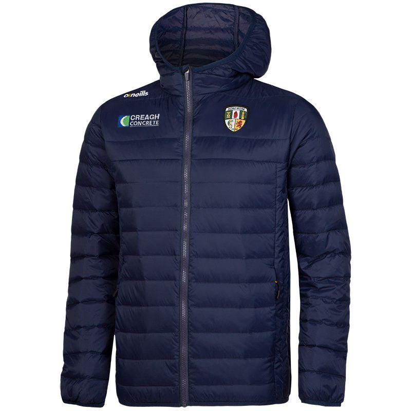 Antrim GAA Solar Down Filled Jacket (Marine/Amber) (Old Sponsor)