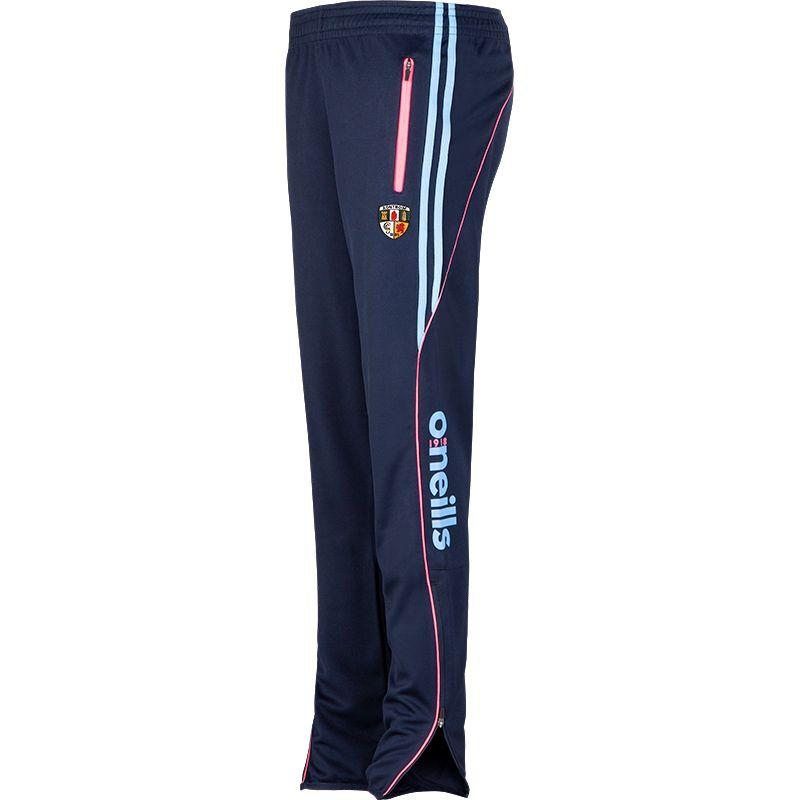 Antrim GAA Solar 2S Squad Skinny Pants (Marine/Flo Pink/Sky Blue) (Kids)