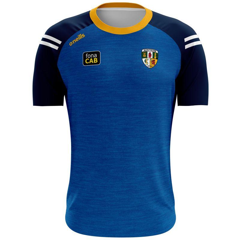 Antrim GAA Men's Voyager T-Shirt Marine / Amber