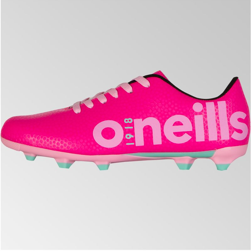 Apollo 2 Lace Football Boot Junior Pink