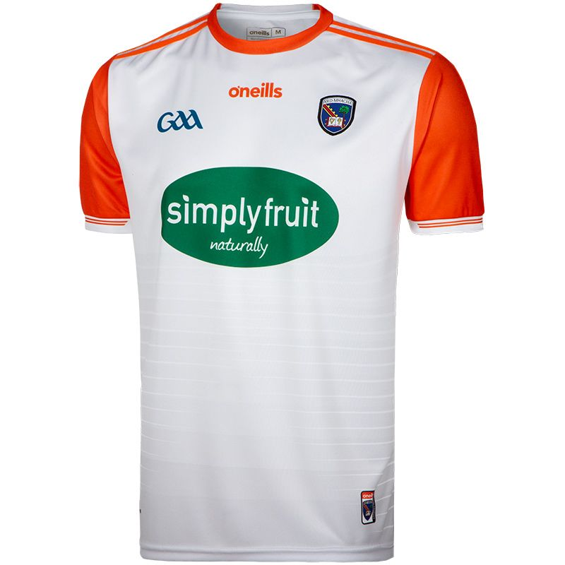 Armagh GAA Player Fit 2-Stripe Away Jersey