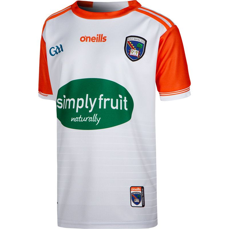 Armagh GAA Kids' 2-Stripe Away Jersey