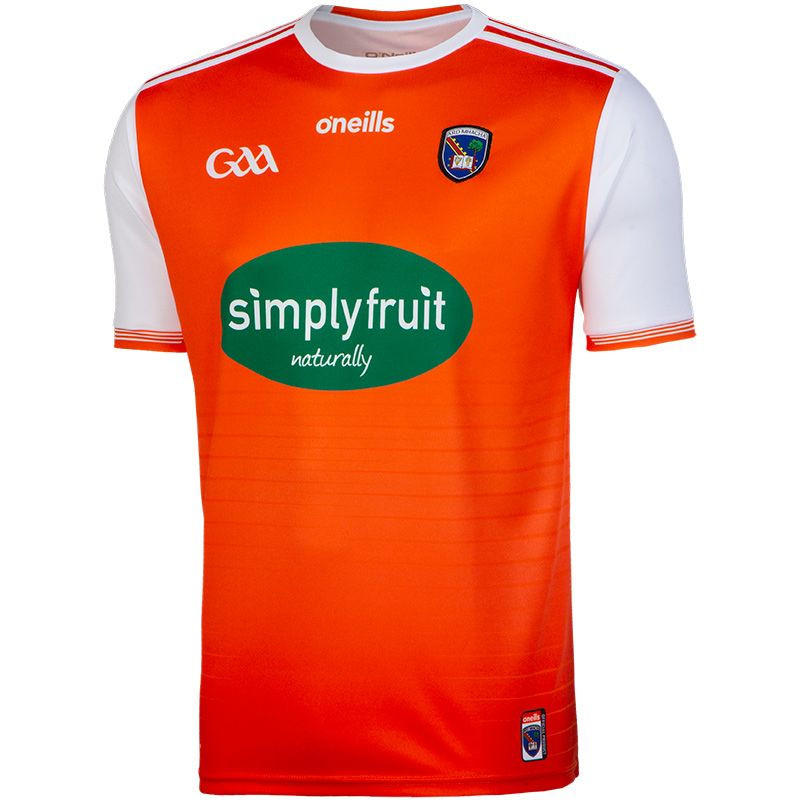 Armagh GAA Player Fit Home Jersey