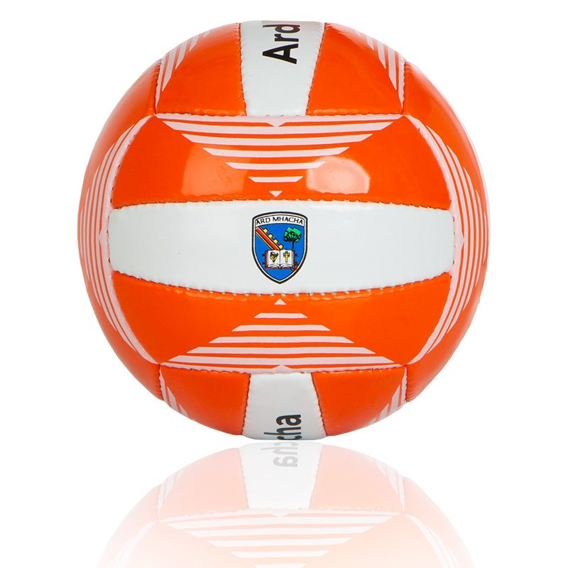 Armagh GAA All Ireland Gaelic Football (Tangerine/White) (Midi)