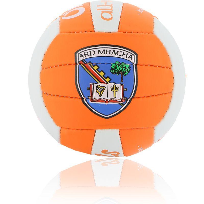 Armagh GAA All Ireland Mini Gaelic Football Tangerine / White