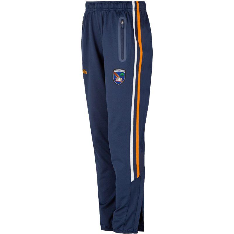 Armagh GAA Kids' Nevis Brushed Skinny Pants Marine / Orange / White
