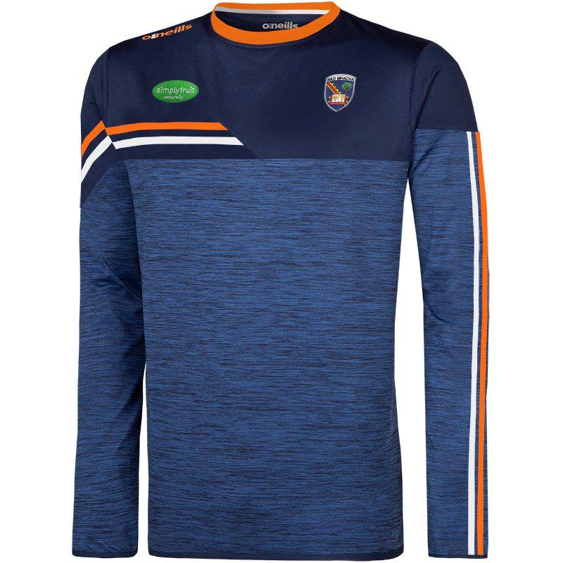 Armagh GAA Men's Nevis Brushed Sweatshirt Marine / Orange