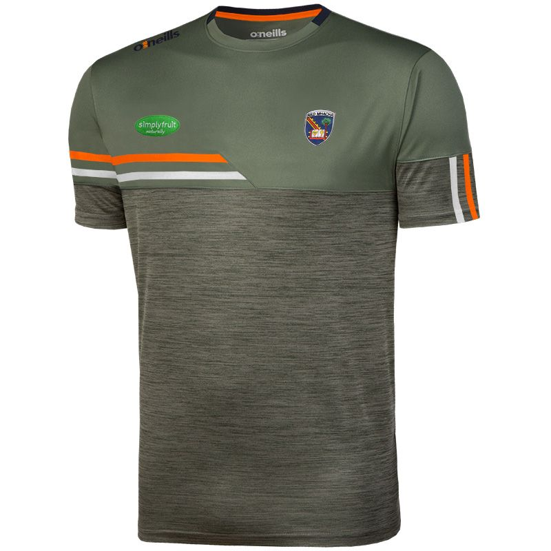 Armagh GAA Men's Nevis T-Shirt Green / Orange