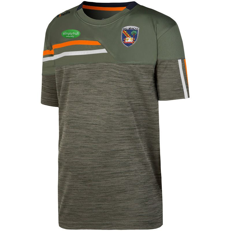 Armagh GAA Kids' Nevis T-Shirt Green / Orange