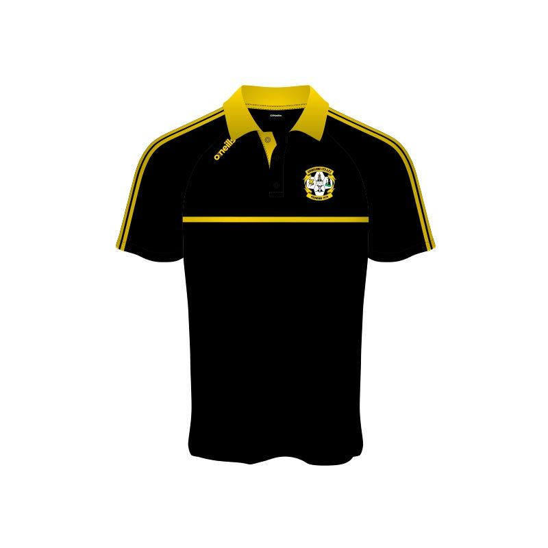 Ashbourne United Mason Polo Shirt Black
