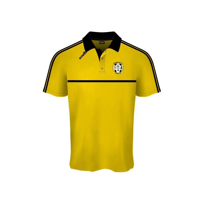 Ashbourne United Mason Polo Shirt (Gold)