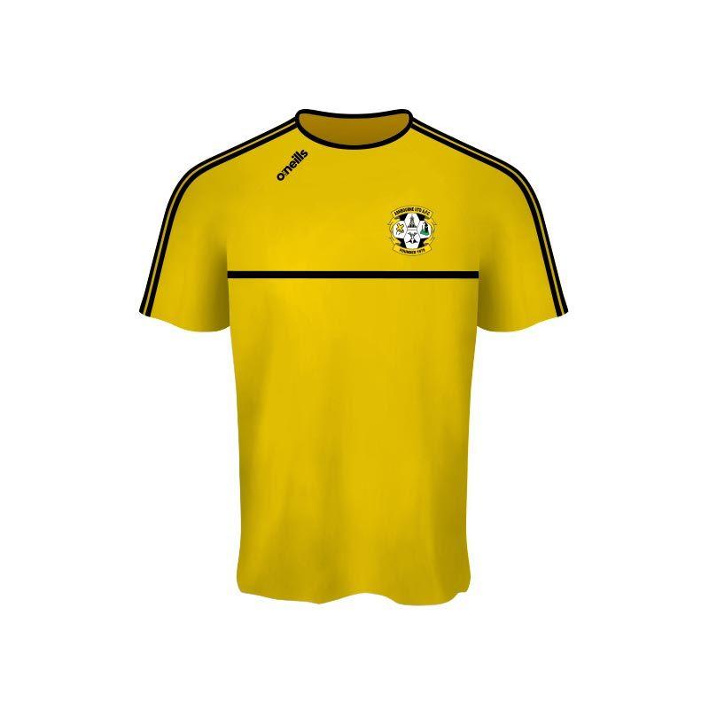 Ashbourne United Kids' Mason T-Shirt (Gold)
