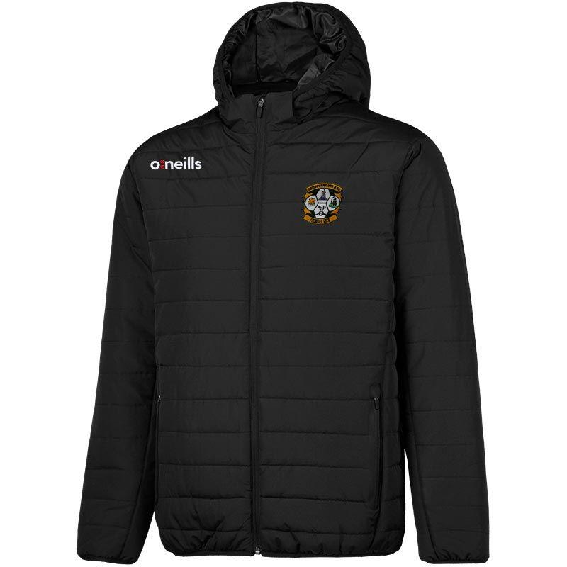 Ashbourne United Solar Hooded Padded Jacket