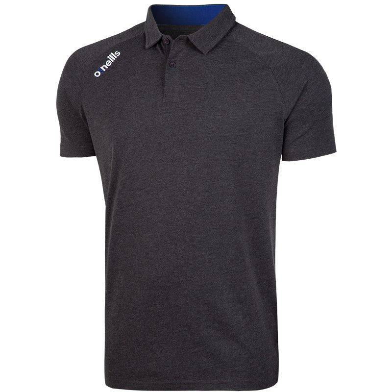 Aspen Polo (Marl Black/Royal) (Kids)