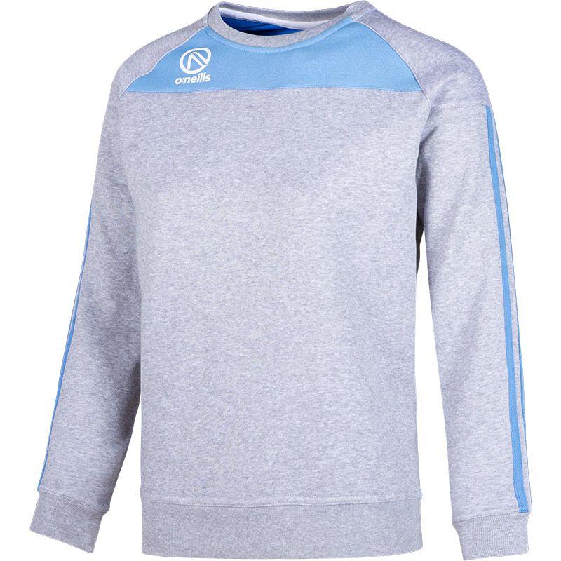 Women's Aston Crew Neck Sweatshirt Grey / Sky