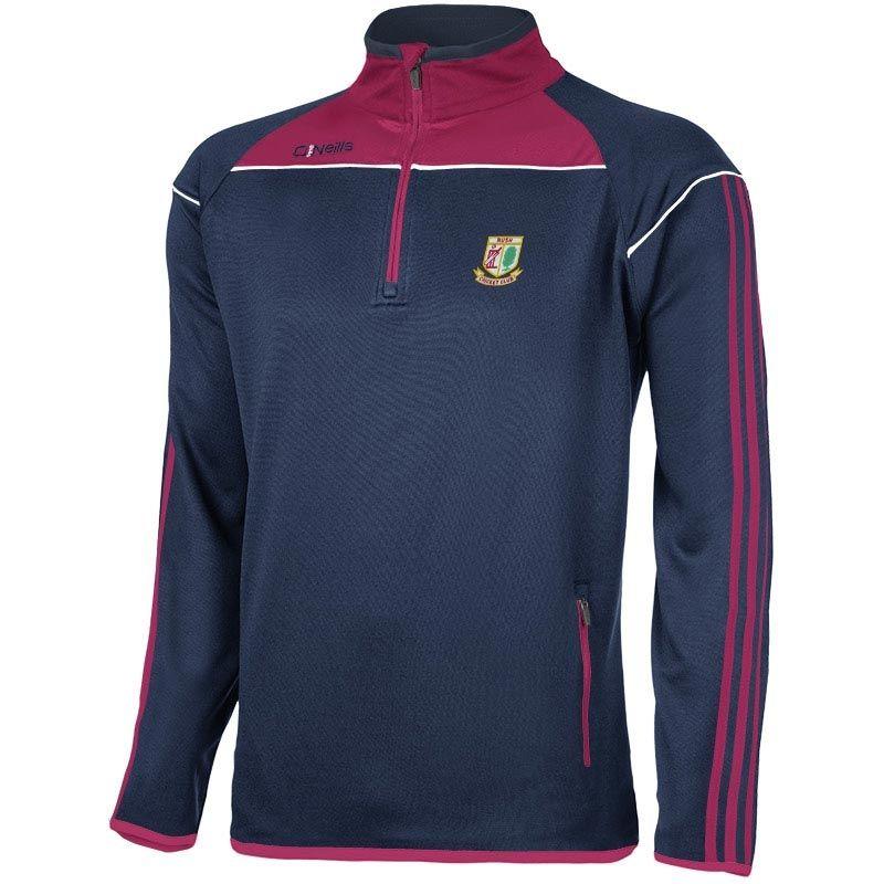 Rush Cricket Club Aston Half Zip Top
