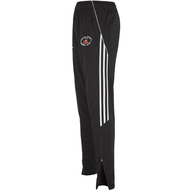 North County Cricket Club Kids' Aston 3s Squad Skinny Pant Black / White