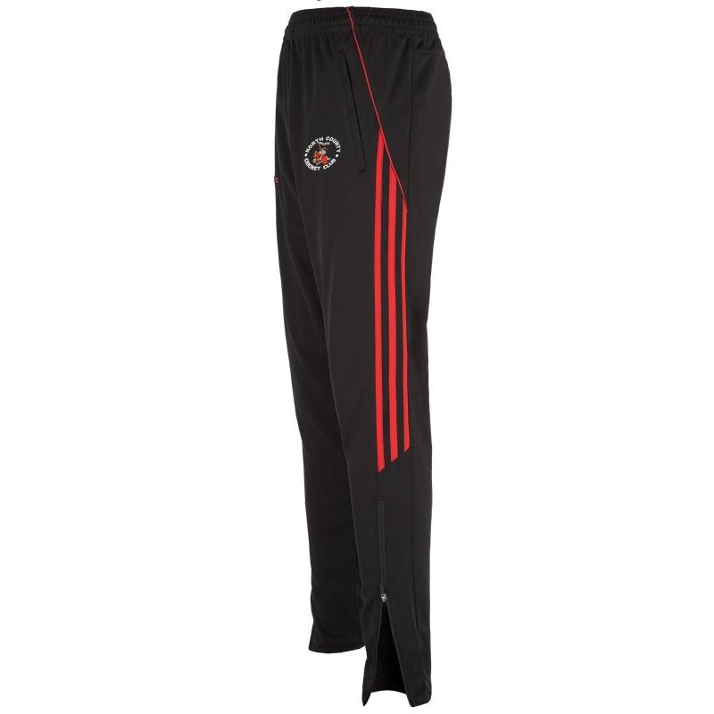 North County Cricket Club Aston 3s Squad Skinny Pant (Black/Red)