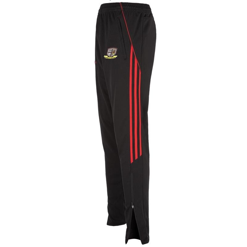 St Pats Palmerstown Aston 3s Squad Skinny Pant (Black/Red) (Kids)