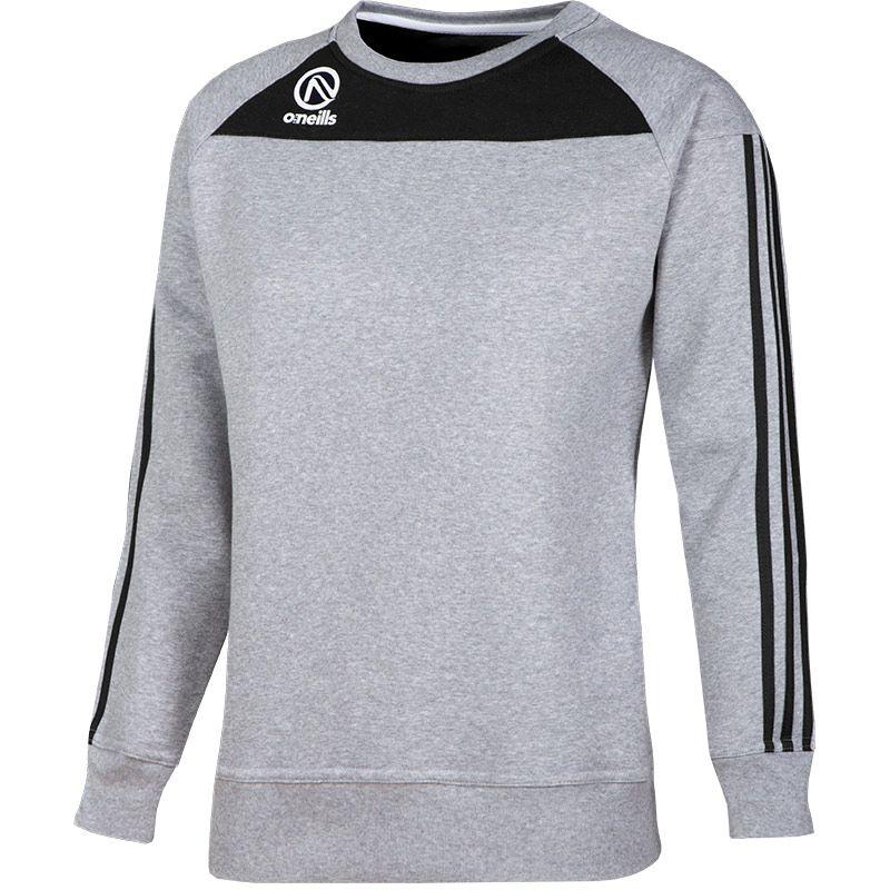 Women's Aston Crew Neck Sweatshirt Grey / Black