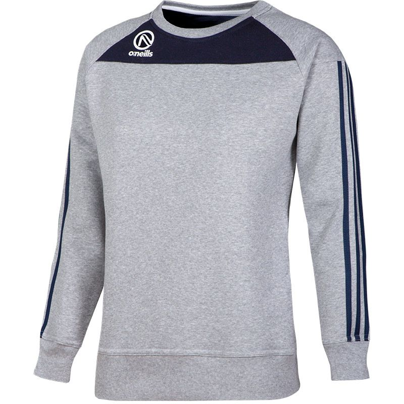 Women's Aston Crew Neck Sweatshirt Grey / Marine