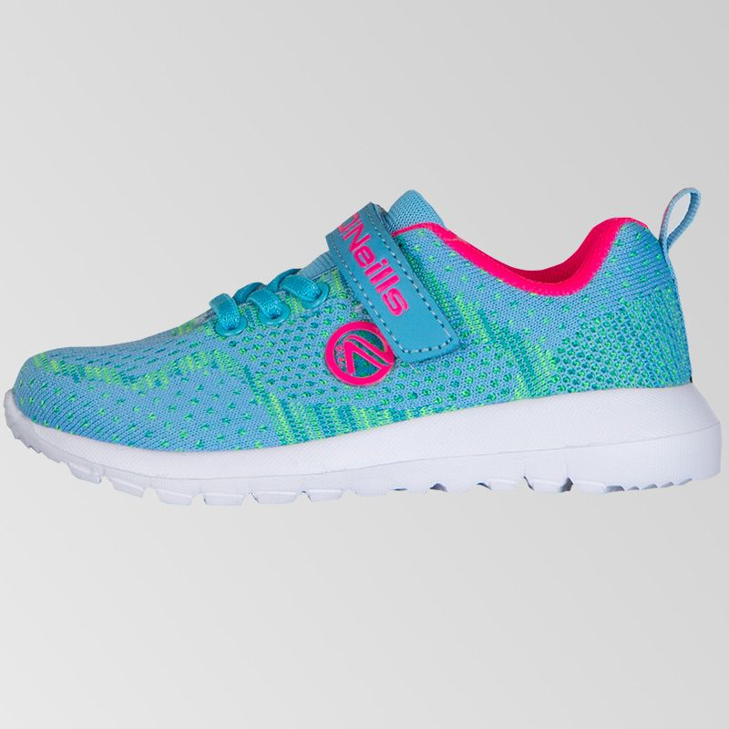 Astrid Velcro Trainers (Infant) (Sky/Flo Pink)