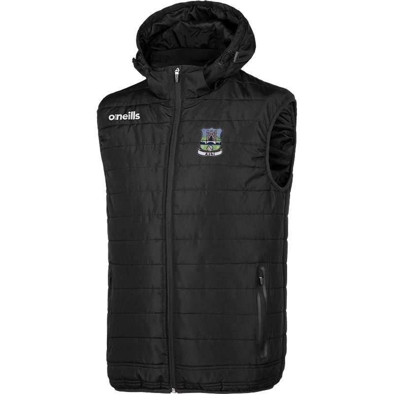 Athy GAA Men's Solar Hooded Gilet