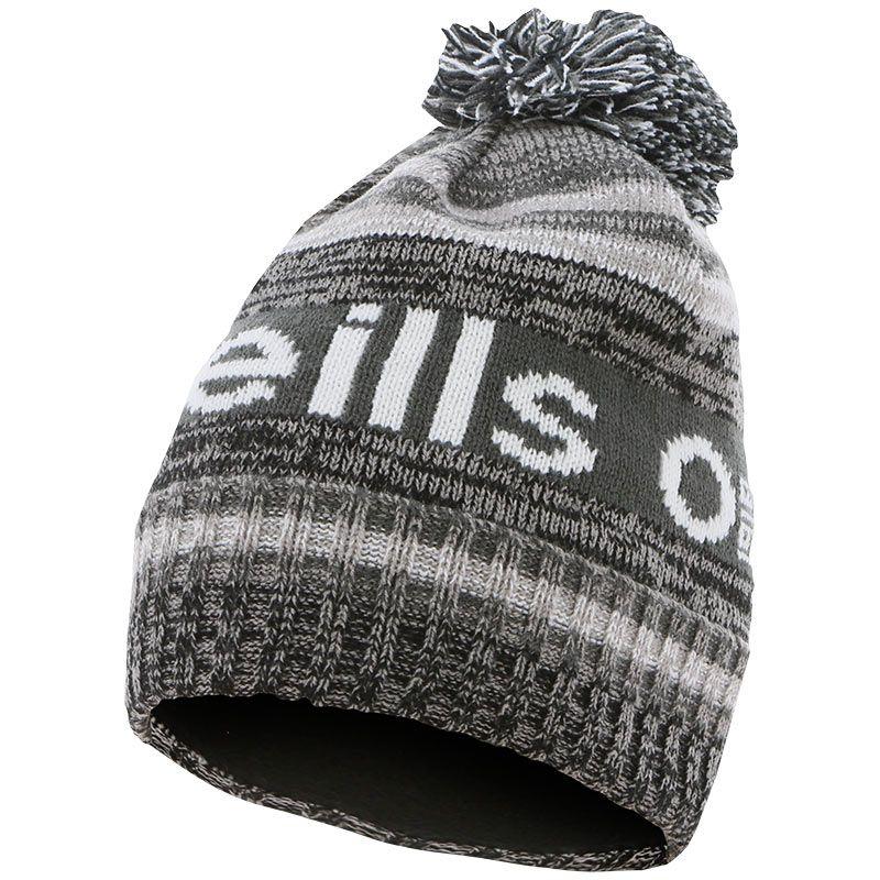 Atlanta Bobble Hat Black / Grey / White