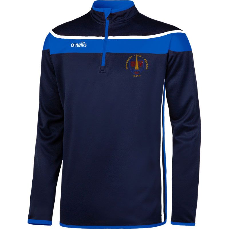 Westbury On Severn RFC Auckland Squad Half Zip Kids