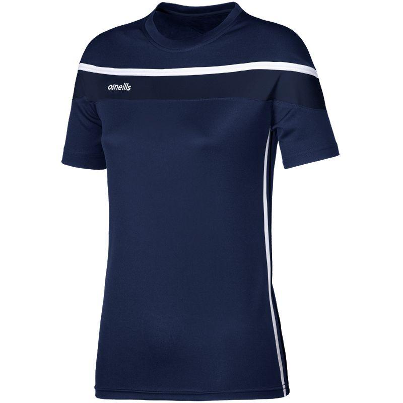 Women's Auckland T-Shirt Marine / White