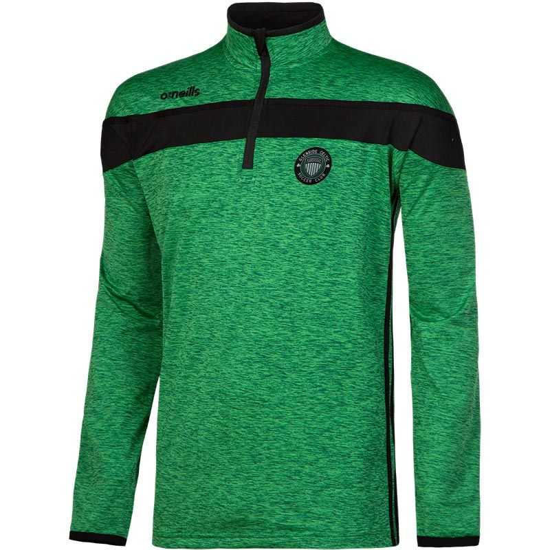 Glenside Celtic FC Auckland Half Zip Brushed Top