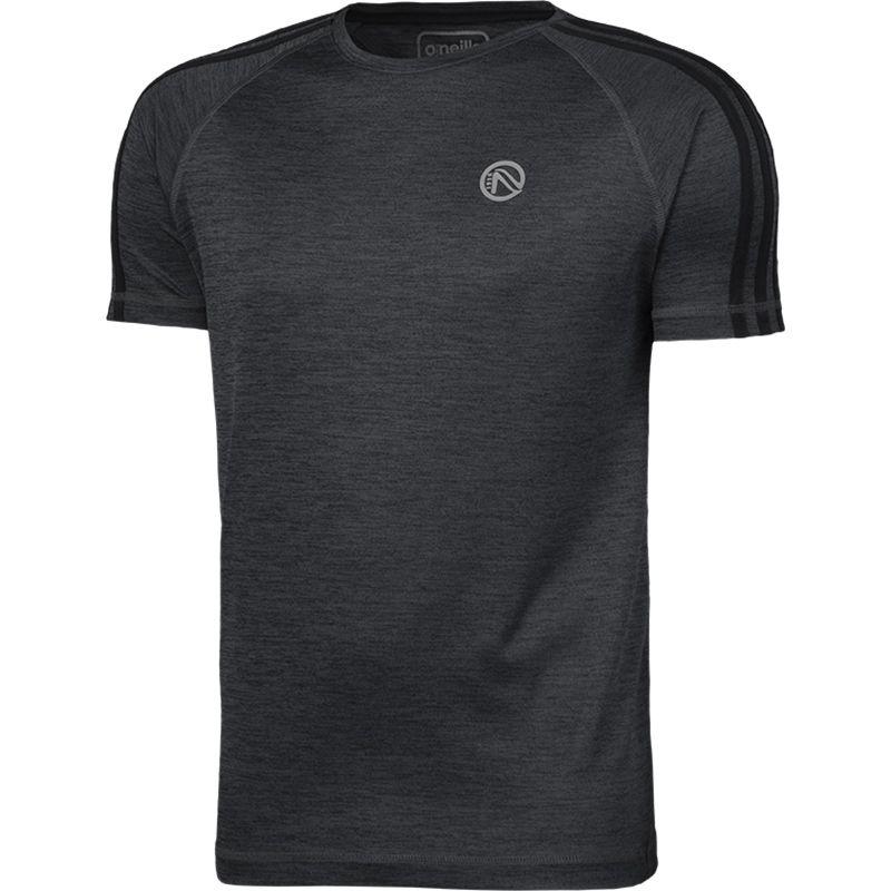 Men's Bari 3S T-Shirt Melange Black