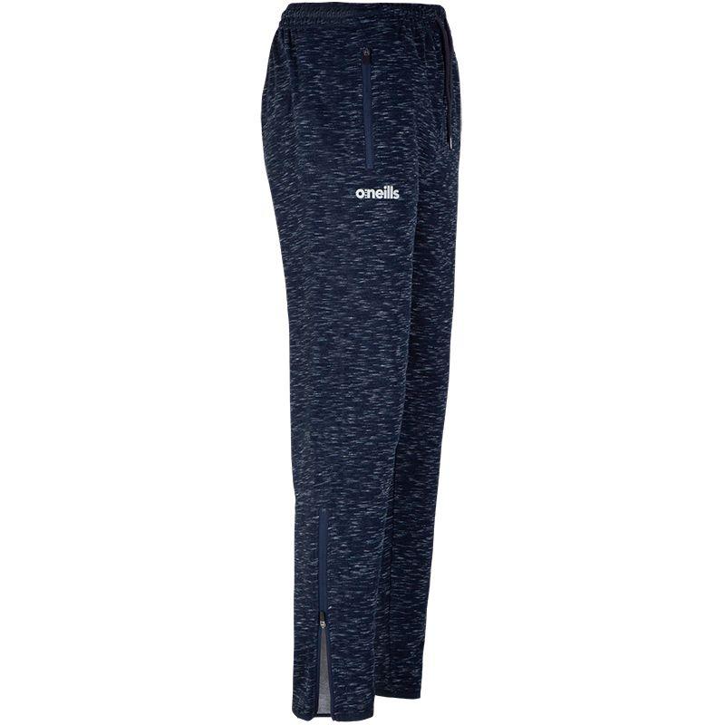 Bari Skinny Fleece Pants (Fleck Marine/Marine)