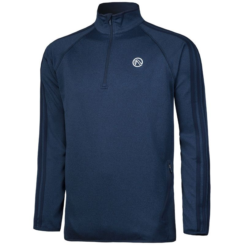 Men's Bari 3s Half Zip Squad Top Marine