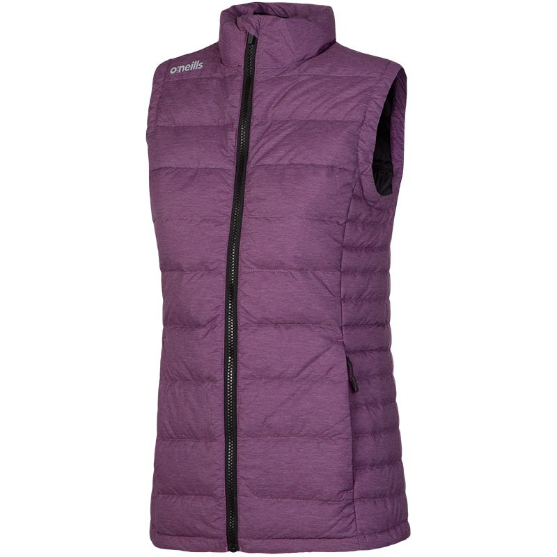 Women's Bassett Down Filled Gilet Purple / Black