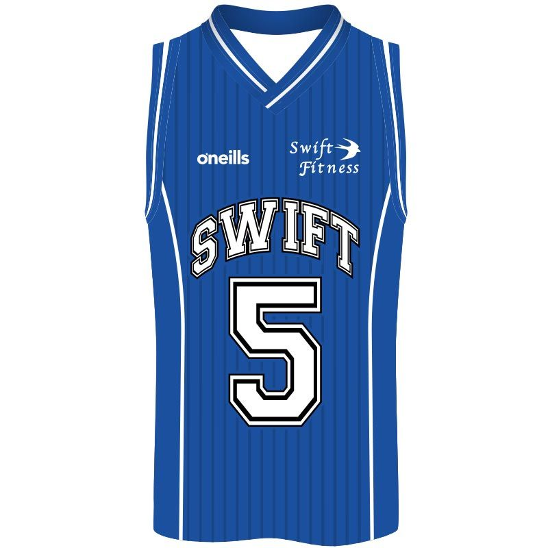 Swift Fitness Basketball Vest (Royal)